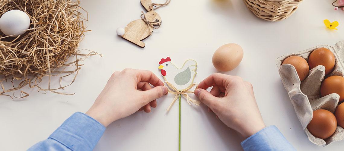 Sjove og hyggelige aktiviteter i påsken