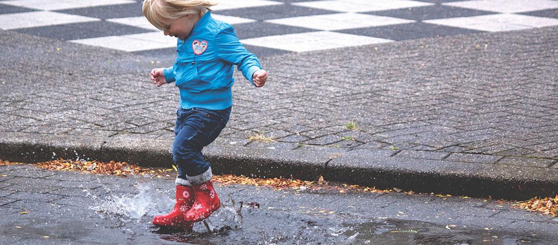Find det rette fodtøj til børnene til efterår og vinter